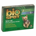 buy discount  Bio-Spot  Flea Control for Puppies, Toys, and Miniatures 15 lbs. & Under