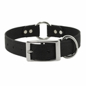 buy discount  Black 1 in. K-9 Komfort EverFlex Center Ring Dog Collar with Stainless Steel Hardware
