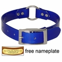 buy discount  BLUE 1 in. Day Glow Center Ring Collar