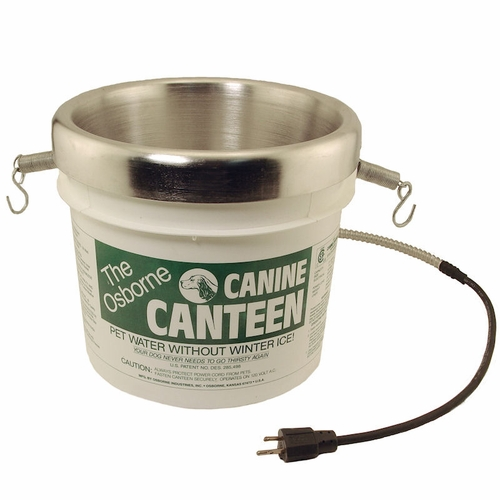 Canine Canteen Heated Water Bucket by Osborne