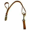 CLEARANCE -- 2 ft. TufFlex Belt Loop Lead with Loc Jaw Snap 1 in. - by K-9 Komfort