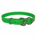 buy discount  CLEARANCE -- LIGHT GREEN 3/4 in. K-9 Komfort TransFlex 2-Groove D-End Puppy / Small Dog Collar