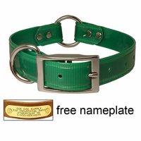 buy discount  1 in. K-9 Komfort TransFlex 2-Groove Center Ring Dog Collar