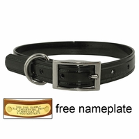 buy discount  CLEARANCE -- 3/4 in. K-9 Komfort TransFlex 2-Groove Standard Puppy / Small Dog Collar