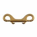 "buy discount  Double-End Bolt Snap -- Brass 3 7/8"" Long"