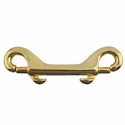 "buy discount  Double-End Snap -- Brass 3 11/16"" Long"