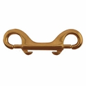 """buy discount  Double End Bolt Snap -- Brass 4"""" Long"""