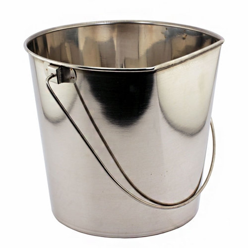 Flat Sided Water Bucket - 9 Quart