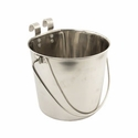 buy discount  Flat Sided Water Bucket with Riveted Hooks - 4 Quart
