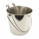 buy discount  Flat Sided Water Bucket with Riveted Hooks - 6 Quart