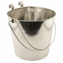 buy discount  Flat Sided Water Bucket with Riveted Hooks - 9 Quart