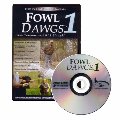 Fowl Dawgs vol. 1 DVD with Rick Stawski
