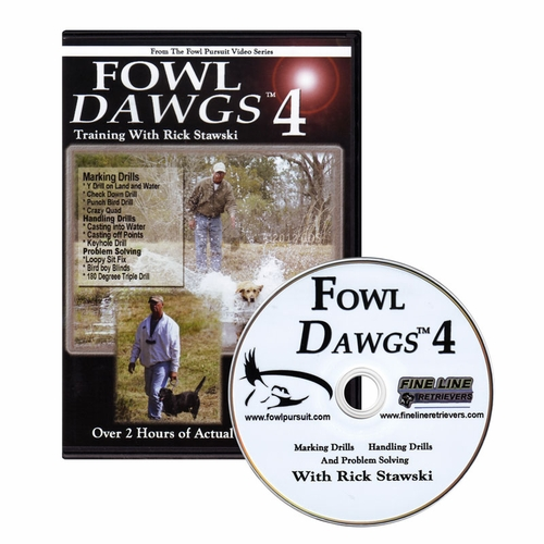 Fowl Dawgs vol. 4 DVD with Rick Stawski