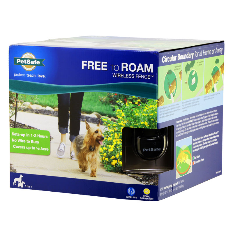 Petsafe Free To Roam Wireless Instant Pet Fence 2 Dog
