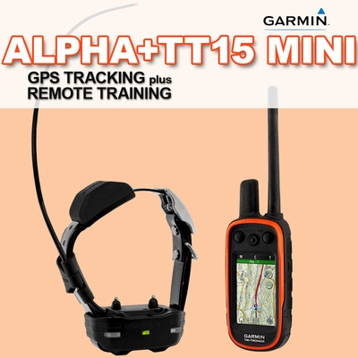 Garmin Alpha 100 with TT15 MINI COMBO (1-dog GPS System)