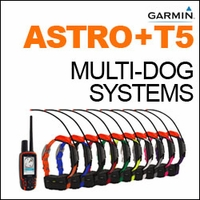buy discount  Garmin Astro + T5 Multi-Dog Systems