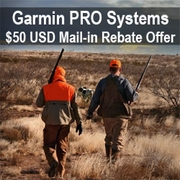 buy discount  Garmin / Tri-Tronics PRO Systems $50 Mail-in Rebate from GARMIN