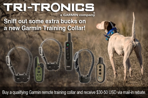 Garmin / Tri-Tronics Select Systems Mail-in Rebate