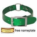 buy discount  GREEN 1 in. Day Glow Center Ring Collar