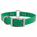 buy discount  Green 1 in. K-9 Komfort EverFlex Center Ring Dog Collar with Stainless Steel Hardware