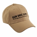 buy discount  Gun Dog Supply Logo Hat -- Tan