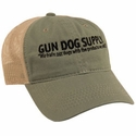 buy discount  Gun Dog Supply Logo Hat -- Olive/Tan with Mesh