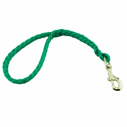 CLEARANCE -- K-9 Komfort 16 in. Hollow Braid Snap Lead