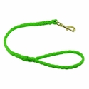 buy discount  CLEARANCE -- K-9 Komfort 2 ft. Hollow Braid Snap Lead