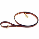 buy discount  K-9 Komfort 4 1/2 ft. Bridle Leather Snap Lead