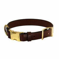 buy discount  K-9 Komfort Quick Release 1 in. Leather Collar