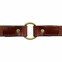 buy discount  Leather Dog Collar Inside Center Ring Detail