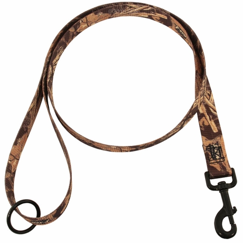 Max 4 Camo 4 ft. x 1 in. 1-ply Nylon Leash