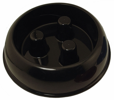 MEDIUM BLACK PLASTIC Brake-Fast Bowl