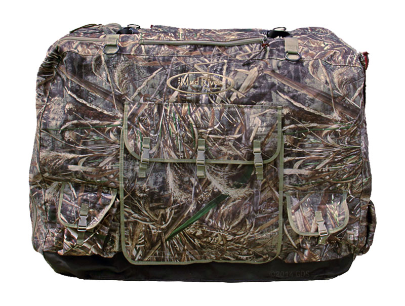 Medium Camo Dixie Insulated Kennel Cover By Mud River