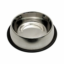 buy discount  Medium Stainless Steel No-Tip Dog Food & Water Bowl #8303 -- approx 40 oz.