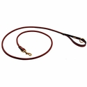buy discount  Mendota Rolled Leather Snap Lead -- 6 ft. x 3/4 in.