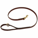 buy discount  Mendota Snap Lead - Leather - 4 ft. x 3/4 in.