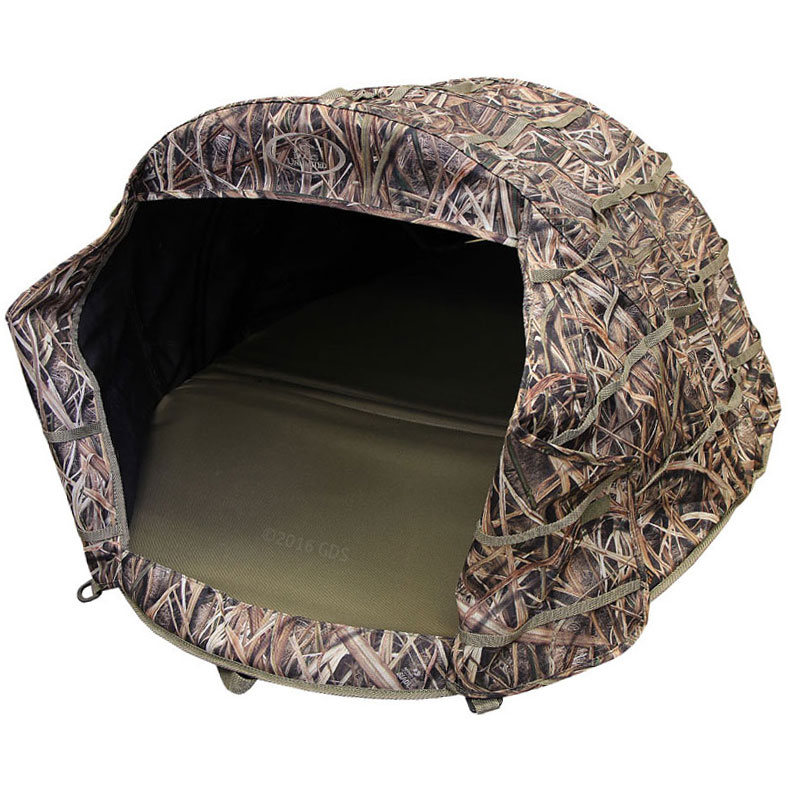 Mud River Ducks Unlimited Deluxe Dog Field Blind 156 95