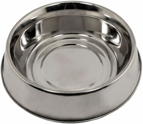 1 qt. Omnipet Stainless Steel Anti-Ant Dog Food Bowl