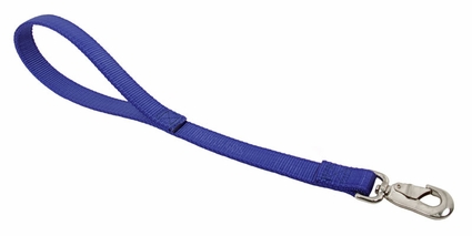 OmniPet Bravo 1 in. x 18 in. 2-Ply Stitched Nylon Lead