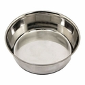 buy discount  2 qt. Omnipet Heavy Stainless Steel Bowl with No-Slip Rubber Ring