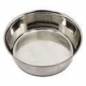 buy discount  3 qt. Omnipet Heavy Stainless Steel Bowl with No-Slip Rubber Ring