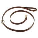buy discount  Omnipet Snap Lead - Leather - 6 ft. x 3/4 in.