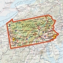 buy discount  ONXMAPS Pennsylvania PLAT Topo Map - Micro SD