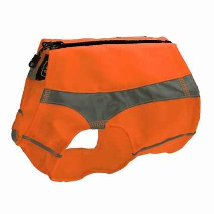 ORANGE Hurtta Polar Dog Visibility Vest