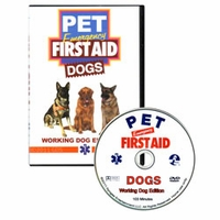 buy discount  Pet Emergency First Aid Dogs: Working Dog Edition DVD