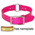 buy discount  PINK 1 in. Day Glow Center Ring Collar