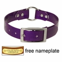 buy discount  PURPLE 1 in. Day Glow Center Ring Collar