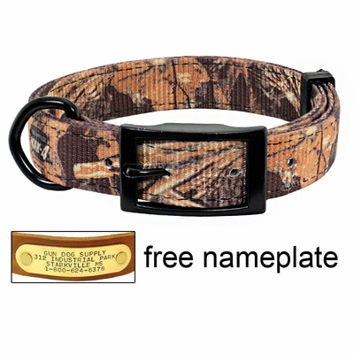 Realtree Max 4 D-End Camo Dog Collar