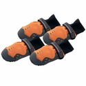 buy discount  CLOSEOUT -- Orange Ruff Wear Summit Trex Dog Boots -- Set of 4